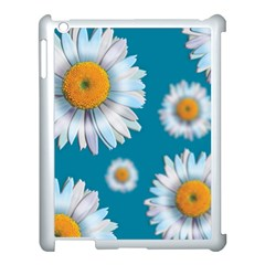 Floating Daisies Apple Ipad 3/4 Case (white) by theimagezone