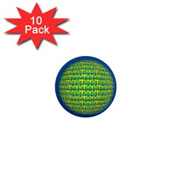 People Planet  1  Mini Magnet (10 pack)  by theimagezone