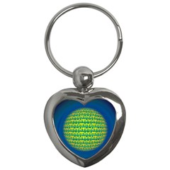 People Planet  Key Chains (heart)  by theimagezone