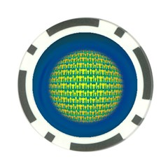 People Planet  Poker Chip Card Guards (10 Pack)  by theimagezone