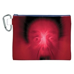 Scream Canvas Cosmetic Bag (xxl)  by theimagezone
