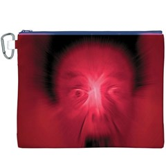 Scream Canvas Cosmetic Bag (xxxl)  by theimagezone