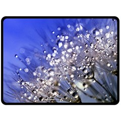 Dandelion 2015 0704 Double Sided Fleece Blanket (Large)  by JAMFoto