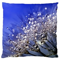 Dandelion 2015 0704 Large Flano Cushion Cases (one Side)  by JAMFoto