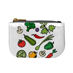 Vegetables 01 Mini Coin Purses by Famous