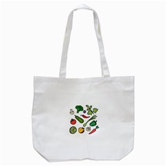 Vegetables 01 Tote Bag (white)  by Famous