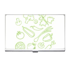 Green Vegetables Business Card Holders by Famous