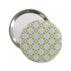 Cute Seamless Tile Pattern Gifts 2.25  Handbag Mirrors by creativemom