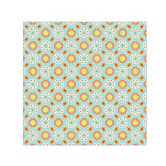 Cute Seamless Tile Pattern Gifts Small Satin Scarf (square)  by creativemom