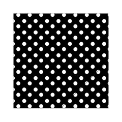 Black And White Polka Dots Acrylic Tangram Puzzle (6  x 6 ) by creativemom