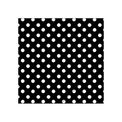Black And White Polka Dots Acrylic Tangram Puzzle (4  x 4 ) by creativemom