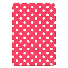 Hot Pink Polka Dots Flap Covers (l)  by creativemom