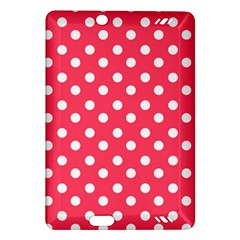 Hot Pink Polka Dots Kindle Fire Hd (2013) Hardshell Case by creativemom