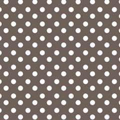 Brown And White Polka Dots Magic Photo Cubes by creativemom