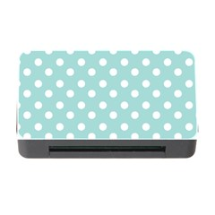 Blue And White Polka Dots Memory Card Reader With Cf by creativemom