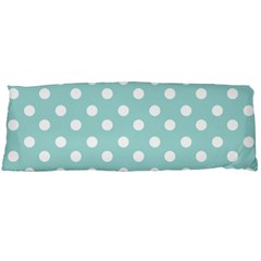Blue And White Polka Dots Body Pillow Cases Dakimakura (two Sides)  by creativemom