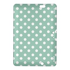 Light Blue And White Polka Dots Kindle Fire Hdx 8 9  Hardshell Case by creativemom
