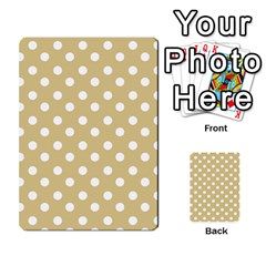 Mint Polka And White Polka Dots Multi Purpose Cards (rectangle)