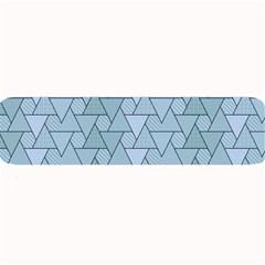 Geo Fun 7 Light Blue Large Bar Mats by MoreColorsinLife