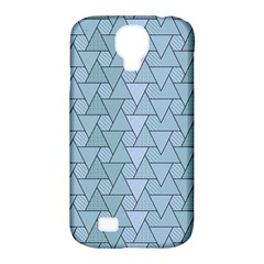 Geo Fun 7 Light Blue Samsung Galaxy S4 Classic Hardshell Case (pc+silicone) by MoreColorsinLife