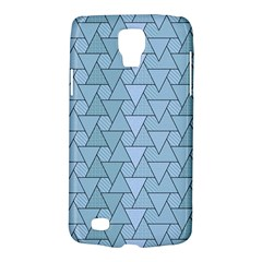 Geo Fun 7 Light Blue Galaxy S4 Active by MoreColorsinLife