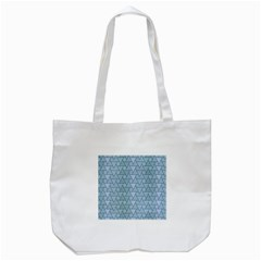 Geo Fun 7 Light Blue Tote Bag (white)  by MoreColorsinLife