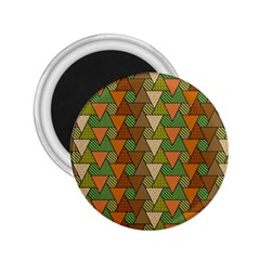 Geo Fun 7 Warm Autumn  2 25  Magnets by MoreColorsinLife