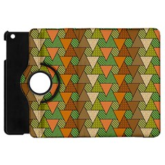 Geo Fun 7 Warm Autumn  Apple Ipad Mini Flip 360 Case by MoreColorsinLife