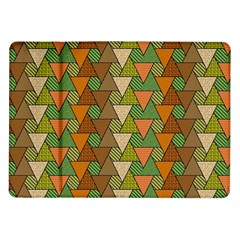Geo Fun 7 Warm Autumn  Samsung Galaxy Tab 10 1  P7500 Flip Case by MoreColorsinLife