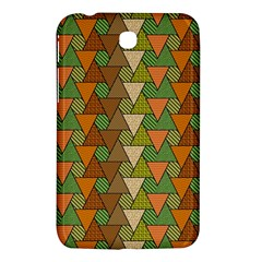 Geo Fun 7 Warm Autumn  Samsung Galaxy Tab 3 (7 ) P3200 Hardshell Case  by MoreColorsinLife