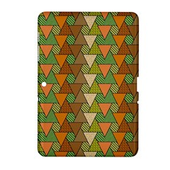 Geo Fun 7 Warm Autumn  Samsung Galaxy Tab 2 (10 1 ) P5100 Hardshell Case  by MoreColorsinLife