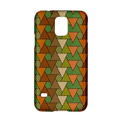 Geo Fun 7 Warm Autumn  Samsung Galaxy S5 Hardshell Case  by MoreColorsinLife