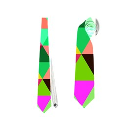 Geo Fun 07 Neckties (two Side)  by MoreColorsinLife