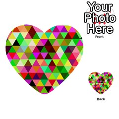 Geo Fun 07 Multi Purpose Cards (heart)