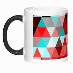 Geo Fun 07 Red Morph Mugs by MoreColorsinLife