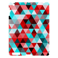 Geo Fun 07 Red Apple Ipad 3/4 Hardshell Case by MoreColorsinLife