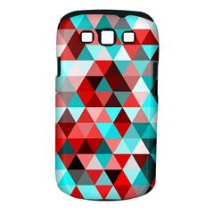 Geo Fun 07 Red Samsung Galaxy S Iii Classic Hardshell Case (pc+silicone) by MoreColorsinLife