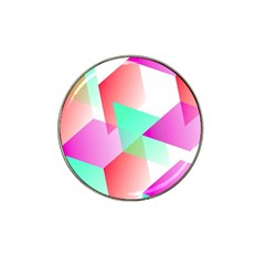 Geometric 03 Pink Hat Clip Ball Marker (10 Pack) by MoreColorsinLife