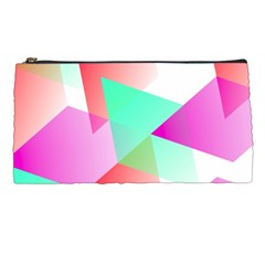 Geometric 03 Pink Pencil Cases by MoreColorsinLife