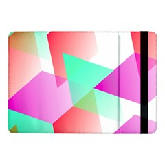 Geometric 03 Pink Samsung Galaxy Tab Pro 10.1  Flip Case by MoreColorsinLife