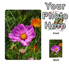 Amazing Garden Flowers 24 Multi Purpose Cards (rectangle)