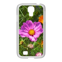 Amazing Garden Flowers 24 Samsung Galaxy S4 I9500/ I9505 Case (white)