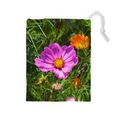 Amazing Garden Flowers 24 Drawstring Pouches (large)