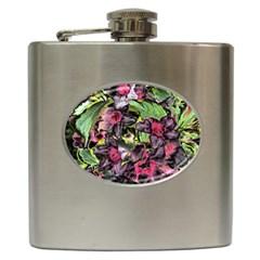 Amazing Garden Flowers 33 Hip Flask (6 Oz) by MoreColorsinLife