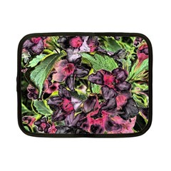 Amazing Garden Flowers 33 Netbook Case (small)  by MoreColorsinLife