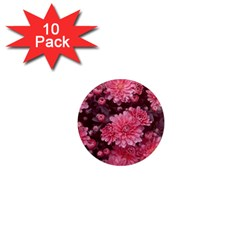 Awesome Flowers Red 1  Mini Magnet (10 Pack)  by MoreColorsinLife