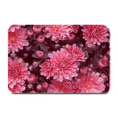 Awesome Flowers Red Plate Mats by MoreColorsinLife