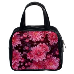 Awesome Flowers Red Classic Handbags (2 Sides) by MoreColorsinLife