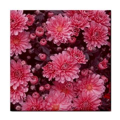 Awesome Flowers Red Face Towel