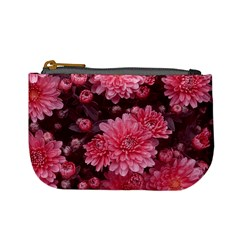 Awesome Flowers Red Mini Coin Purses by MoreColorsinLife